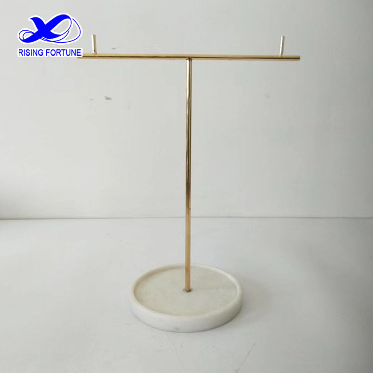 marble jewelry stand holder