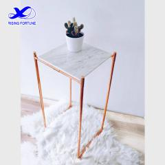 small marble side table