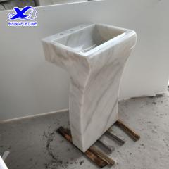 Marble bathroom basin