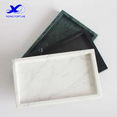 Rectangle real marble storage tray amazon