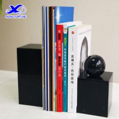 black marble bookend