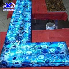 agate stone bar countertop